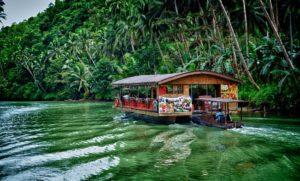 Филиппины, путешествуем по реке Loboc
